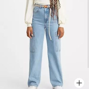 Levi's Utility High Loose Jeans